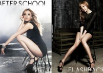 "After School revela fotos de las integrantes NANA y Raina de su tema ""Flashback"" 2012"