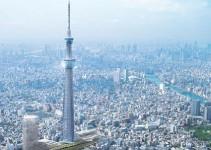 Tokyo Sky Tree la torre de telecomunicacionemetros